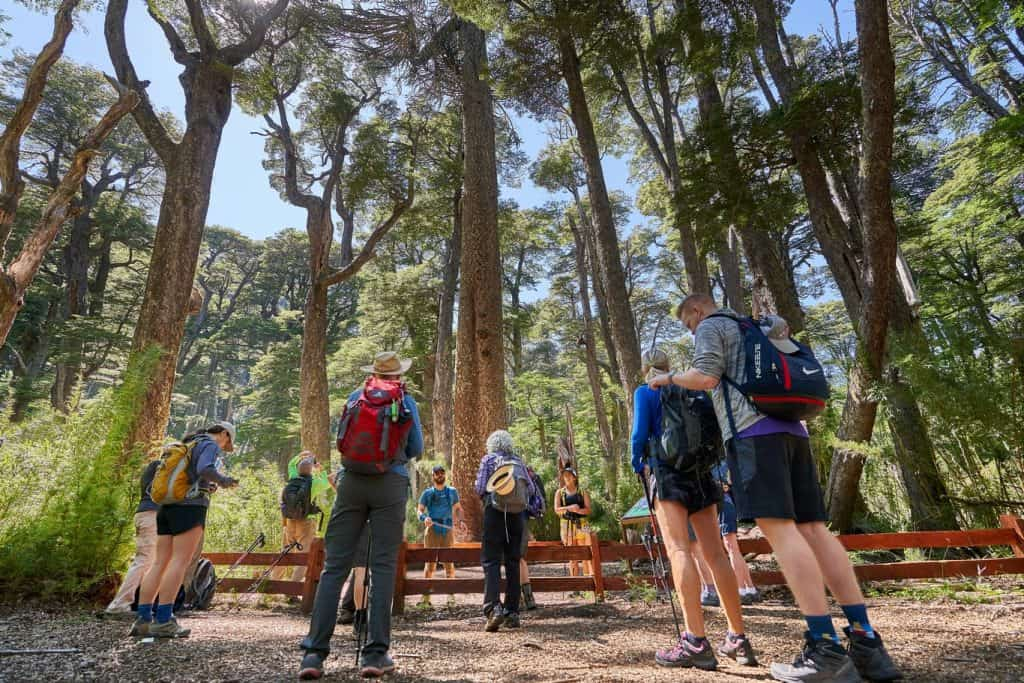 chile hiking trails