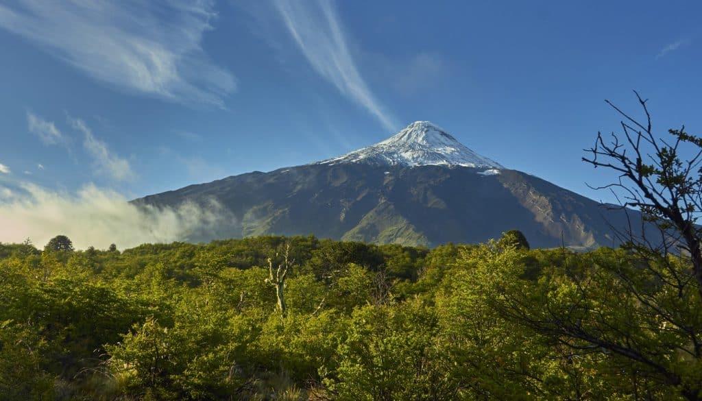 lanin volcano chile
