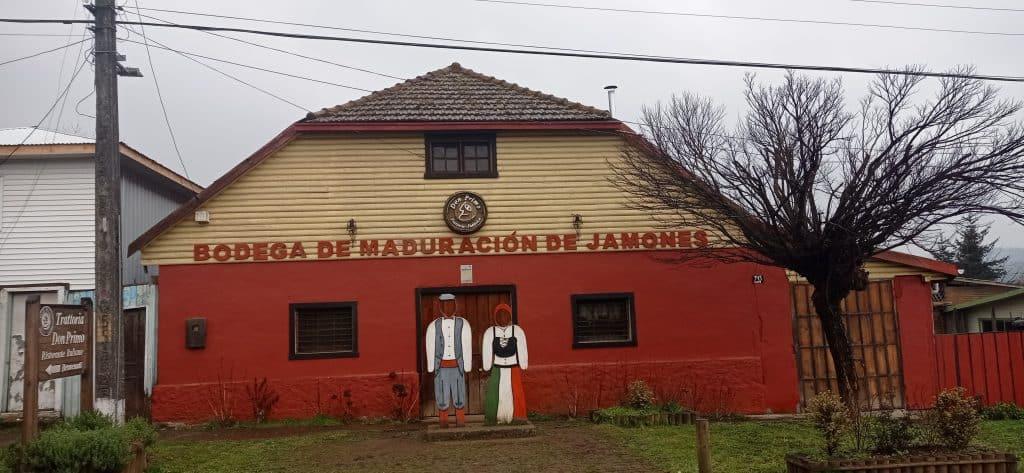 Prosciutto Factory in Capitan Pastene Araucania