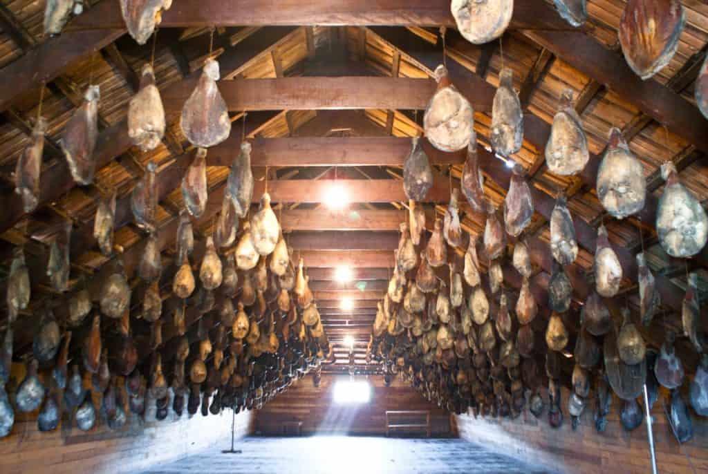 Museo Jamon Serrano Capitan Pastene Araucania