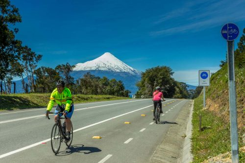 Roadcycling Chile Lake Volcano District